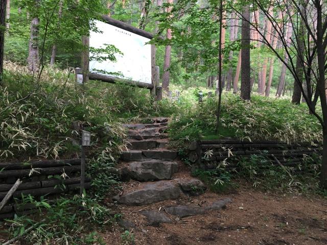 森林公園登山口