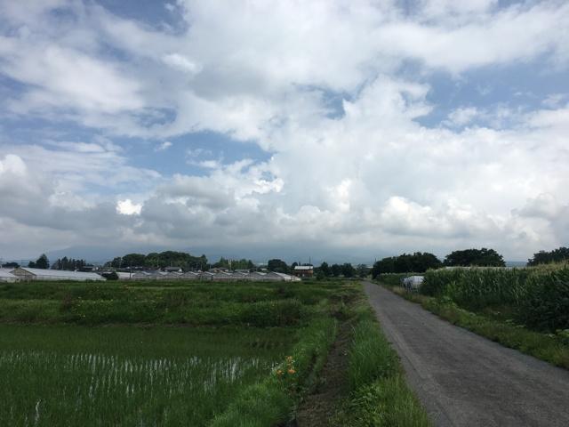 7/6 今朝の赤城山