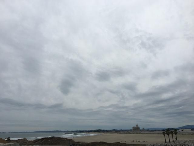 よつくら港から望む太平洋