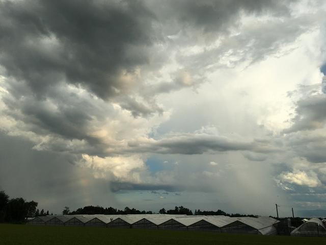 不安定な雲