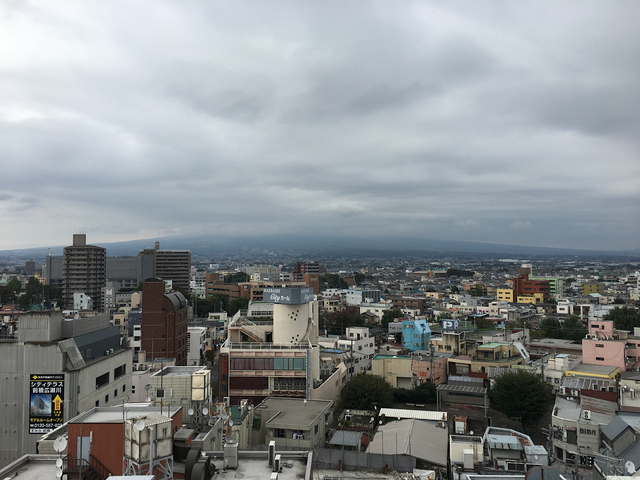 アーツ前橋屋上からの風景