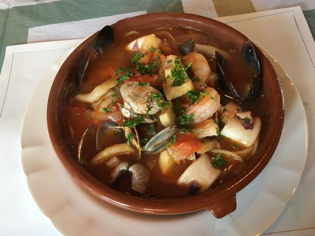 魚貝のスパゲティ