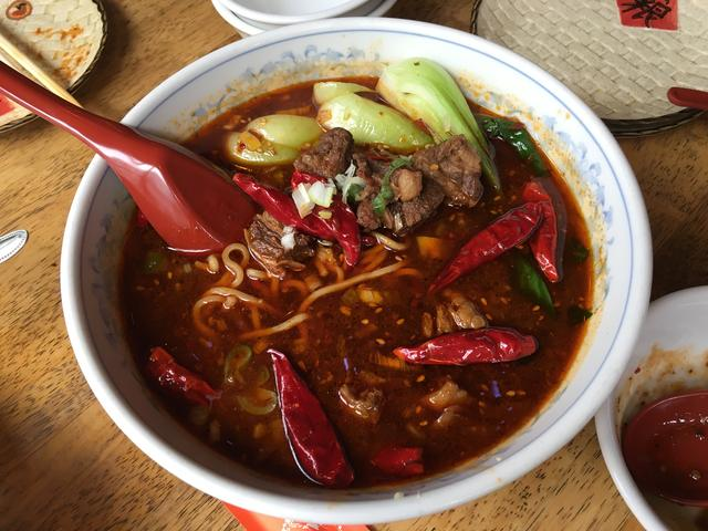 四川激辛牛肉湯麺