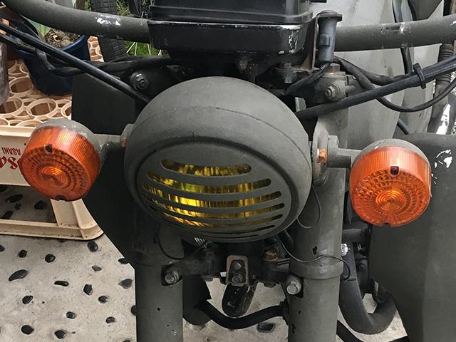 旧ヘッドライト