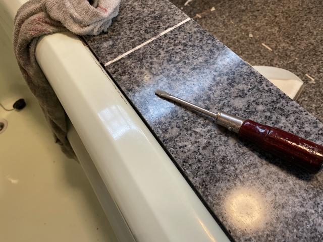 風呂場の修繕
