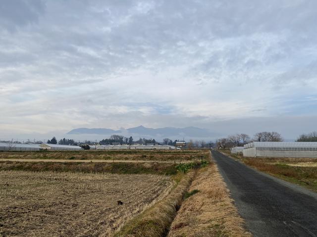 昨日午後の赤城山