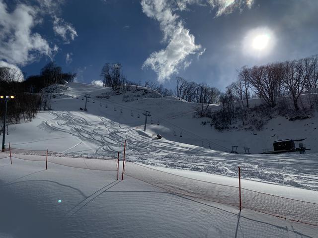 まさかの新雪