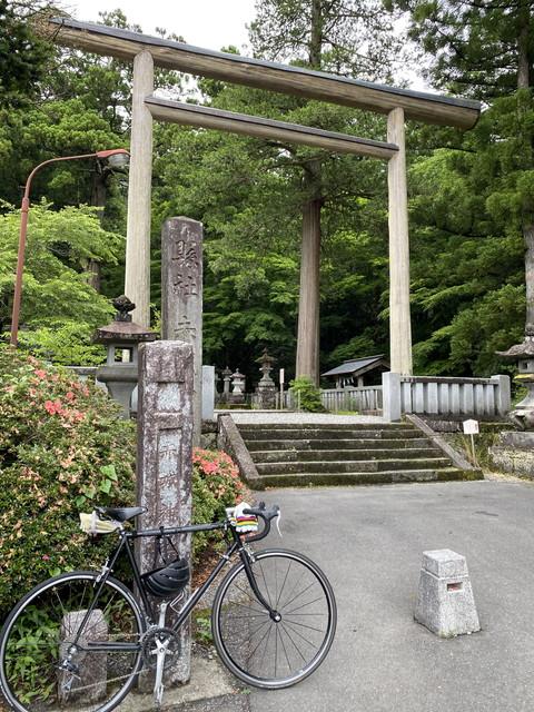自転車で赤城神社に