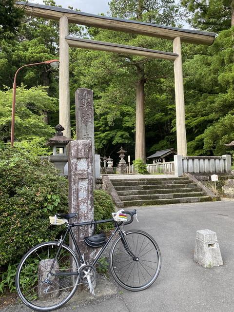 赤城神社までヒルクライム