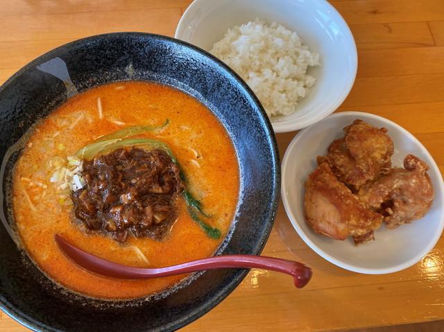 きんとうん麺+ランチ唐揚げセット