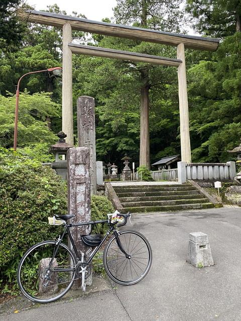 赤城神社まで自転車で