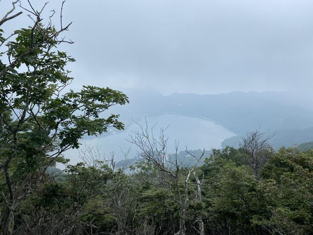 駒ケ岳から望む大沼