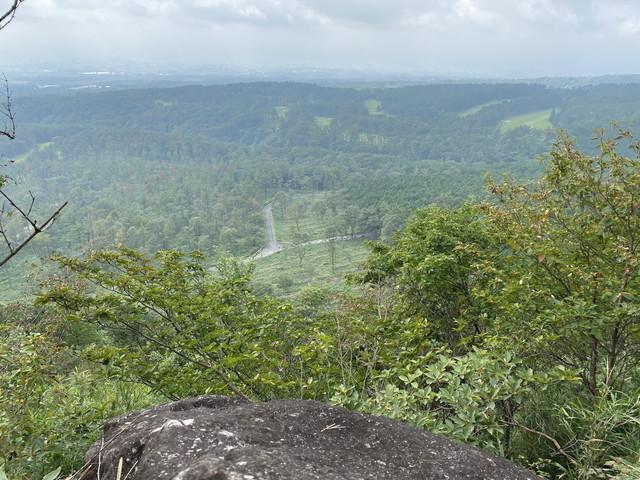 大岩からの展望