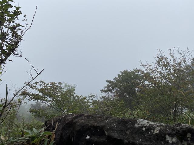 獅子岩からの展望ゼロ
