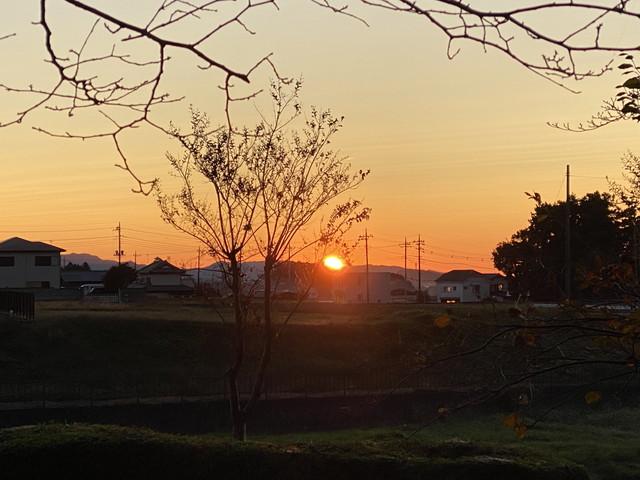 10/31 今朝のご来光