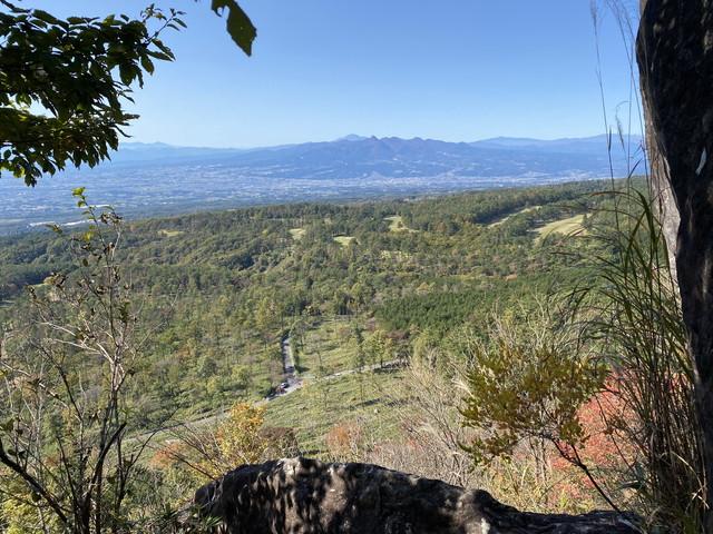 獅子岩からの展望