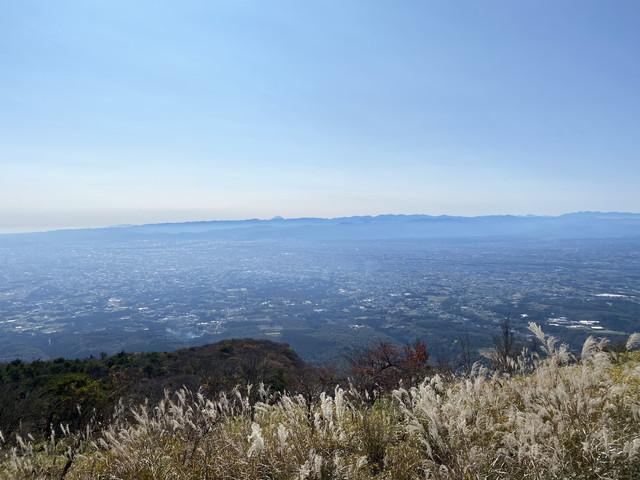 鍋割山からの展望