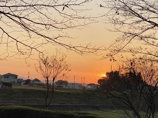 11/15 今朝のご来光