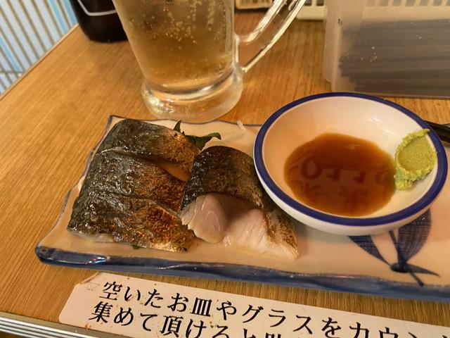 焙りしめ鯖