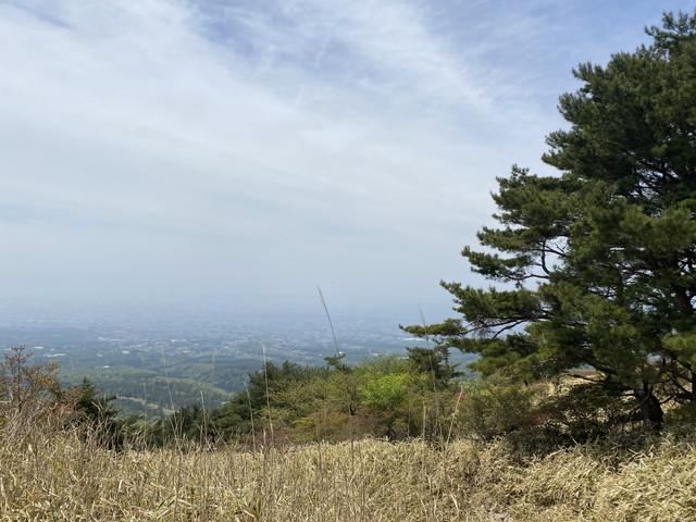鍋割高原からの景色