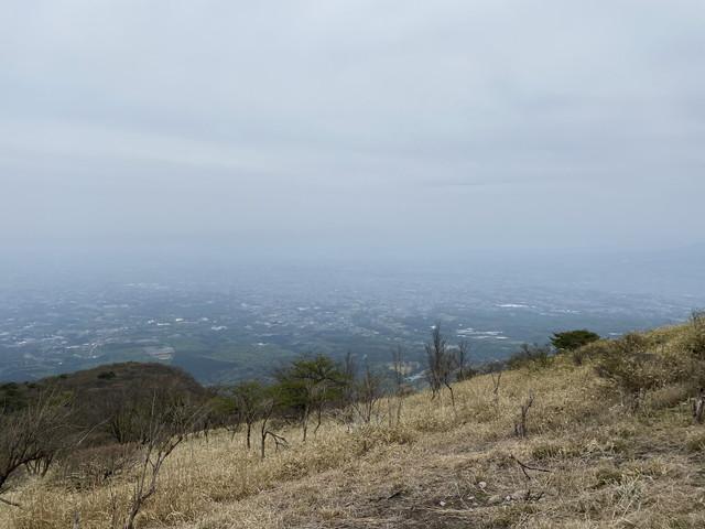 鍋割山山頂からの眺め その1