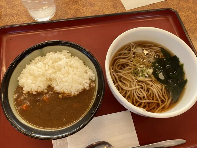 ミニカレー丼朝定食